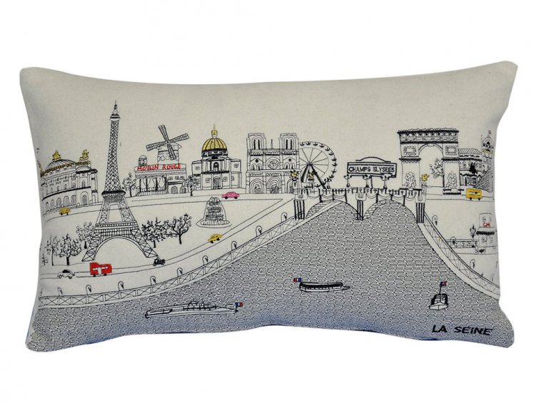 Prince Skyline Lumbar Pillow by Beyond Cushions - 21