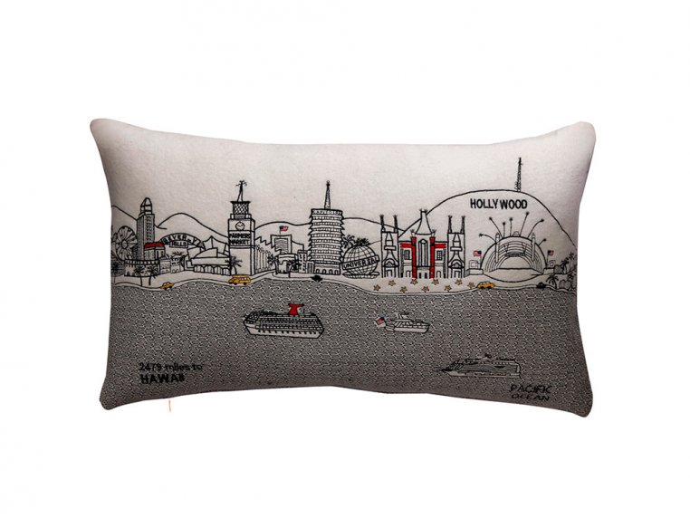 Prince Skyline Lumbar Pillow by Beyond Cushions - 25