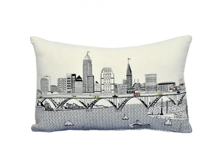 Prince Skyline Lumbar Pillow by Beyond Cushions - 27