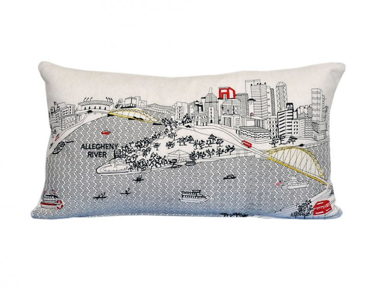 Prince Skyline Lumbar Pillow by Beyond Cushions - 29
