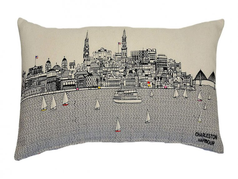 Prince Skyline Lumbar Pillow by Beyond Cushions - 30