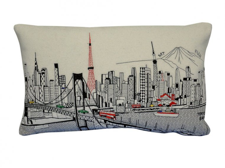 Prince Skyline Lumbar Pillow by Beyond Cushions - 32