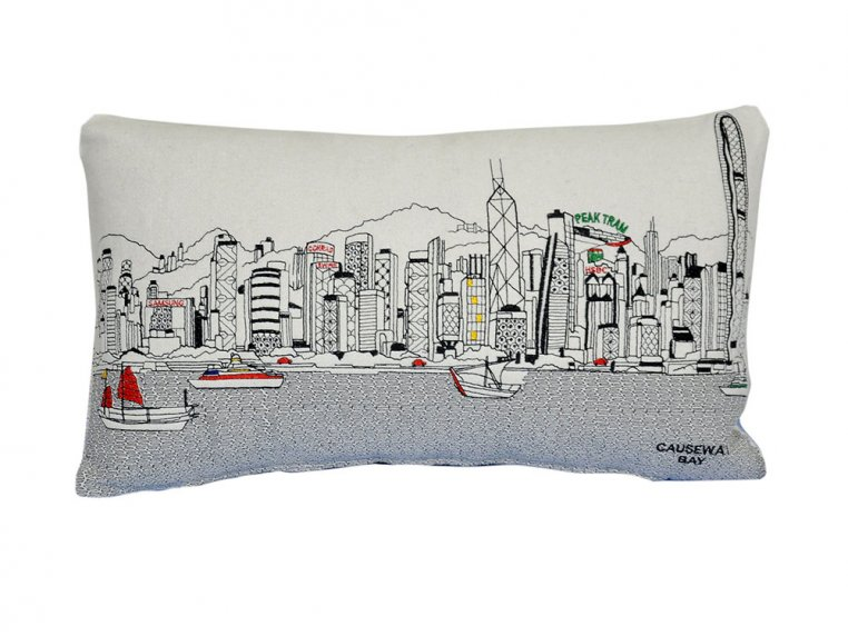 Prince Skyline Lumbar Pillow by Beyond Cushions - 33