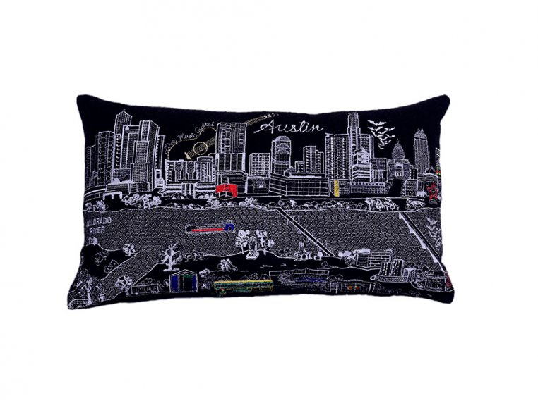Prince Skyline Lumbar Pillow by Beyond Cushions - 35