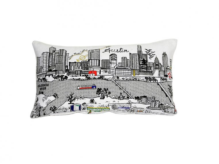 Prince Skyline Lumbar Pillow by Beyond Cushions - 36