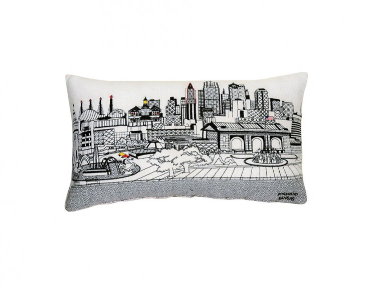 Prince Skyline Lumbar Pillow by Beyond Cushions - 42