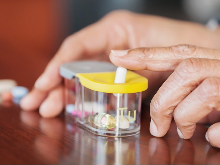 Modular Push-Through Pill Organizer by Sagely - 2