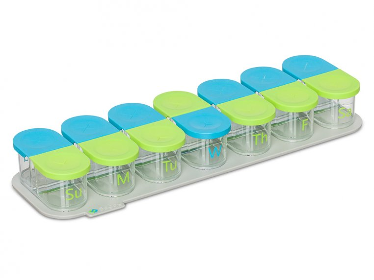 Modular Push-Through Pill Organizer by Sagely - 6