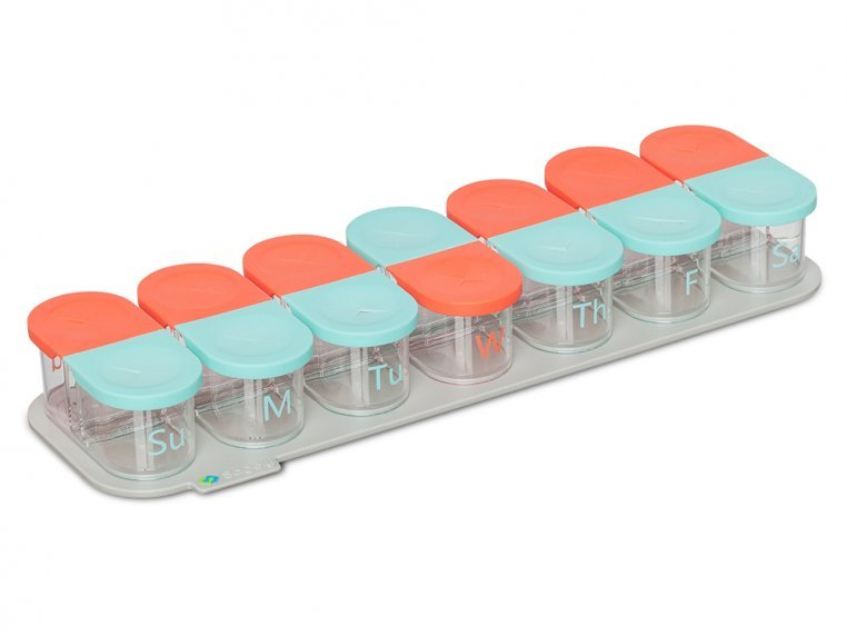 Modular Push-Through Pill Organizer by Sagely - 7