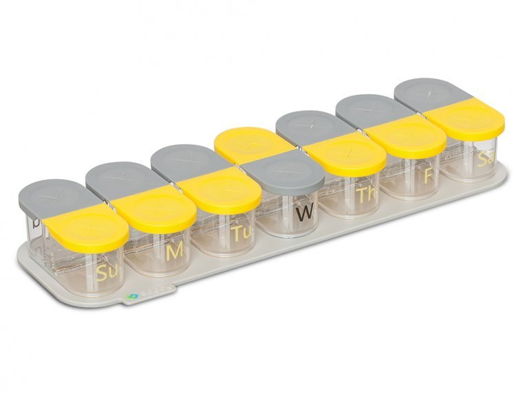 Modular Push-Through Pill Organizer by Sagely - 8