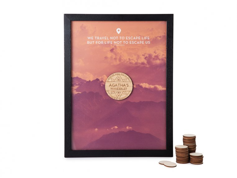 Wanderlist Drop Box Frame by Butler and Hill - 4