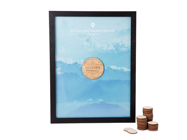 Wanderlist Drop Box Frame by Butler and Hill - 5