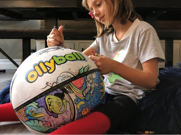 Inflatable Indoor Coloring Ball by Ollyball® - 2