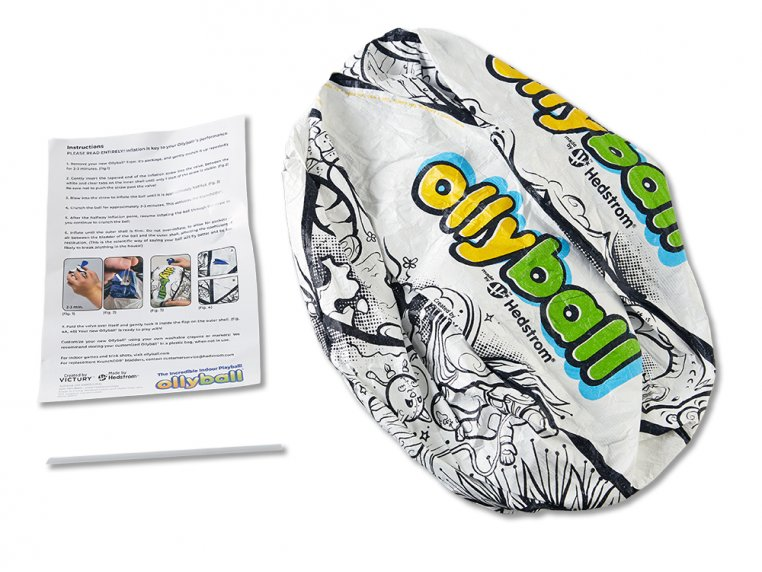 Inflatable Indoor Coloring Ball by Ollyball® - 5