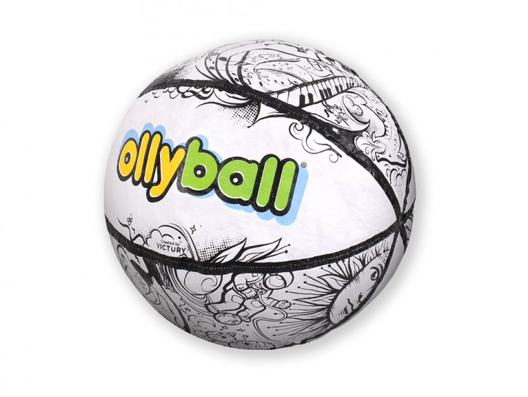 Inflatable Indoor Coloring Ball by Ollyball® - 6