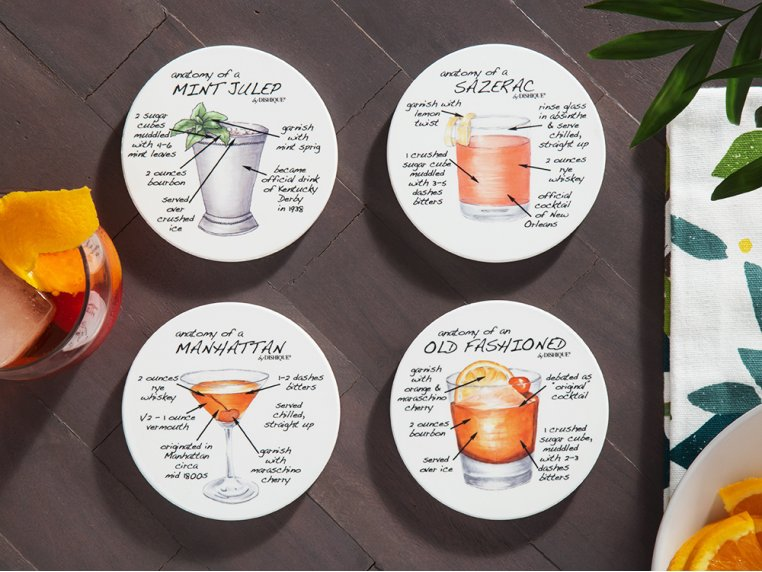 Anatomy Coaster Set, Bar by Dishique - 2
