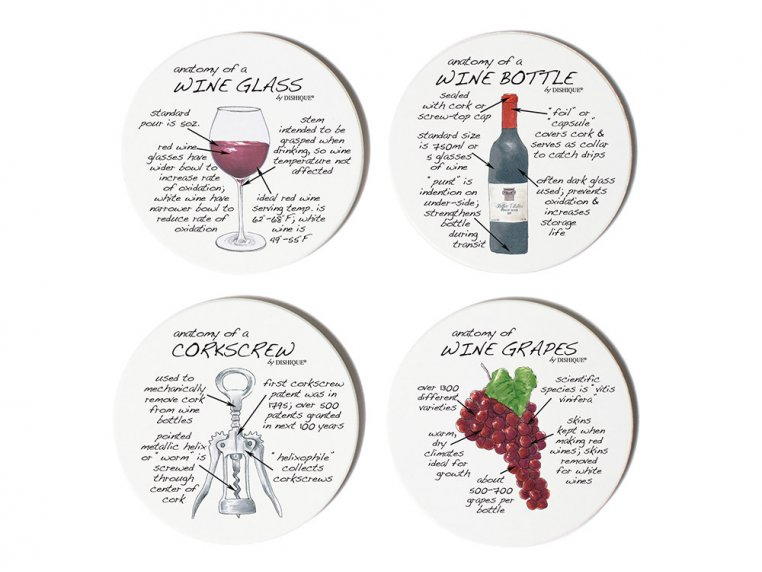 Anatomy Coaster Set, Bar by Dishique - 4