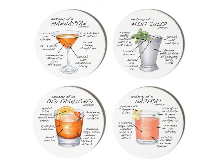 Anatomy Coaster Set, Bar by Dishique - 5