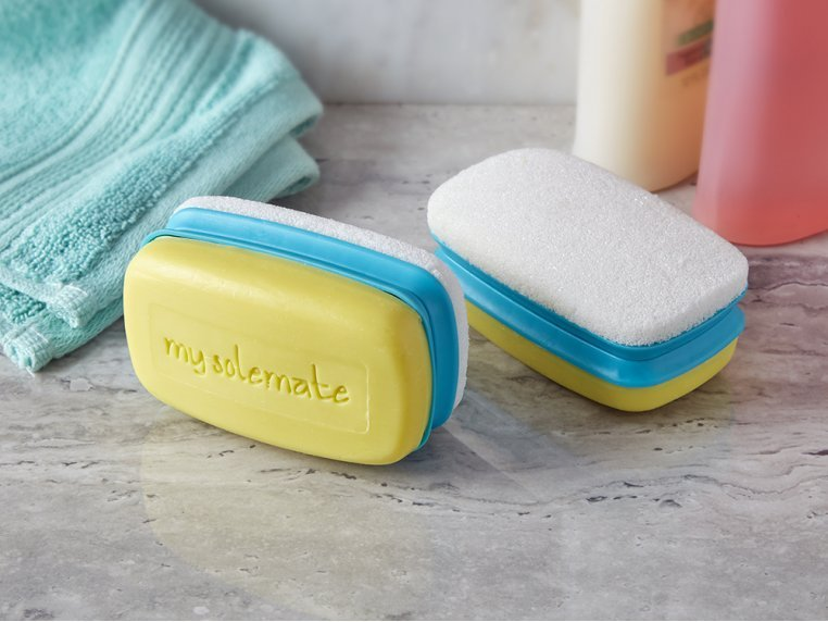 My Solemate 2-in-1 Foot Scrubber Stone by Love, Lori - 2