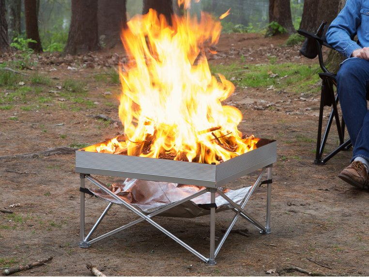Pop-Up Pit Portable Fire Pit by Fireside Outdoor - 6