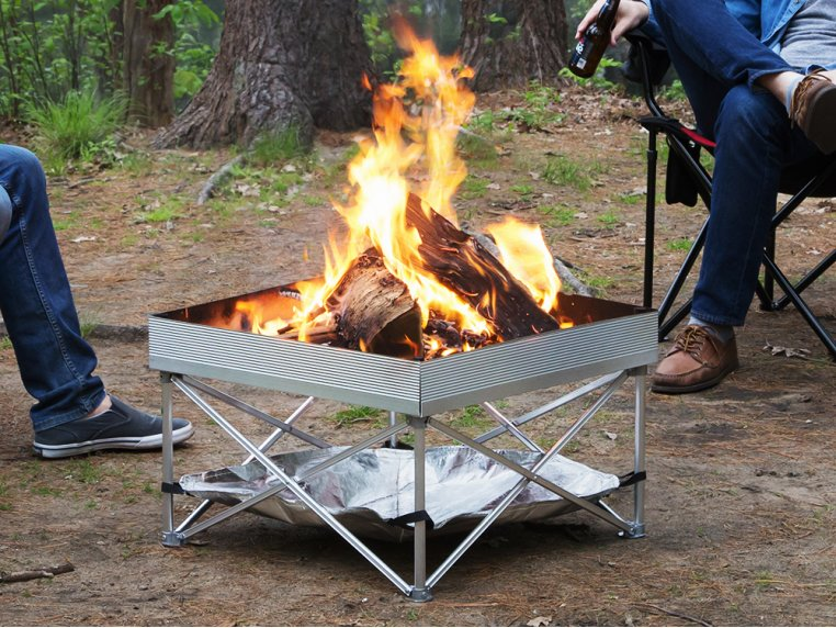 Pop-Up Pit Portable Fire Pit by Fireside Outdoor - 1