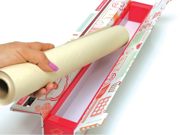 Printed Wrap Dispenser & Cutter by ChicWrap® - 3