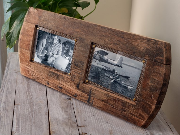 Reclaimed Scottish Whisky Barrel Frame by Whisky Frames - 2