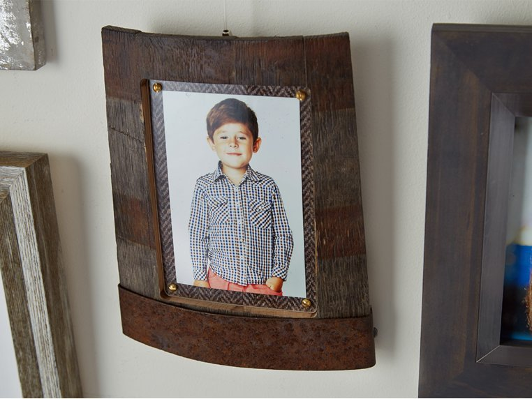Reclaimed Scottish Whisky Barrel Frame by Whisky Frames - 1