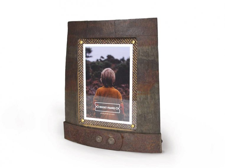 Reclaimed Scottish Whisky Barrel Frame by Whisky Frames - 4
