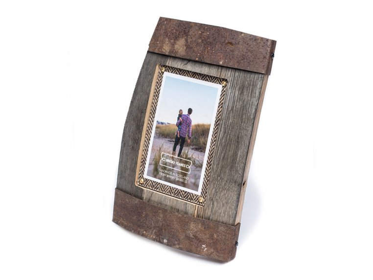 Reclaimed Scottish Whisky Barrel Frame by Whisky Frames - 5
