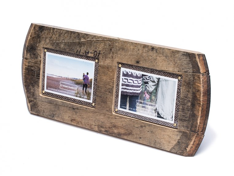 Reclaimed Scottish Whisky Barrel Frame by Whisky Frames - 6