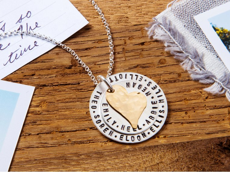 My Whole Heart Layered Necklace by Becoming Jewelry - 1