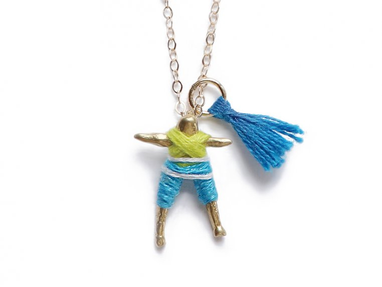 Worry Doll Necklace by Hechizo - 5