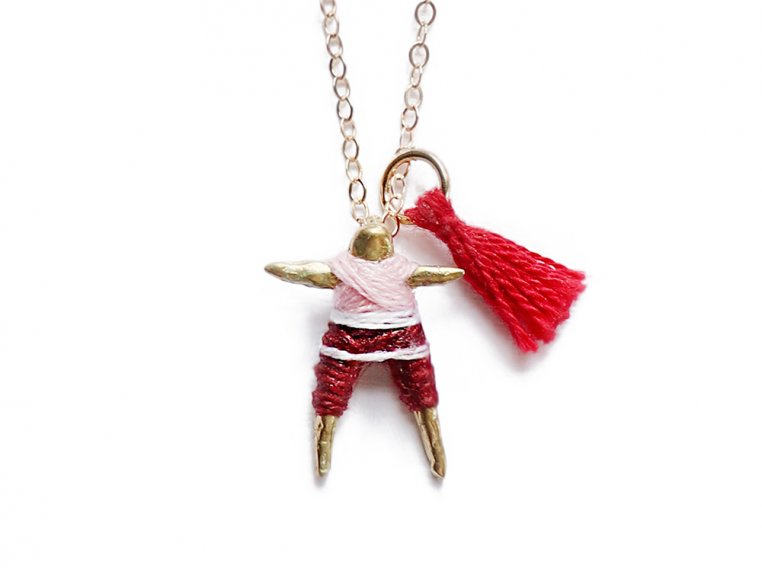 Worry Doll Necklace by Hechizo - 7