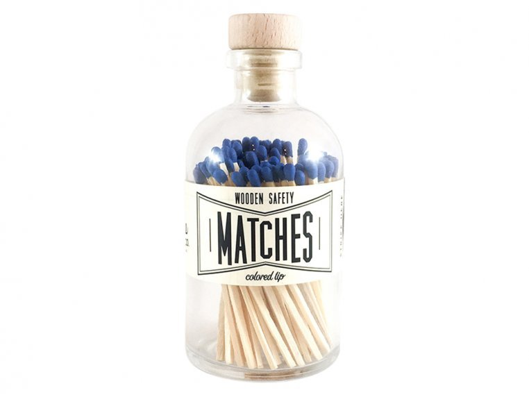 Vintage Apothecary Color-Tip Matches by Made Market Co. - 12