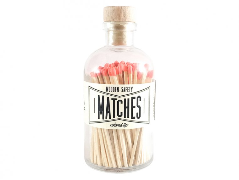 Vintage Apothecary Color-Tip Matches by Made Market Co. - 13