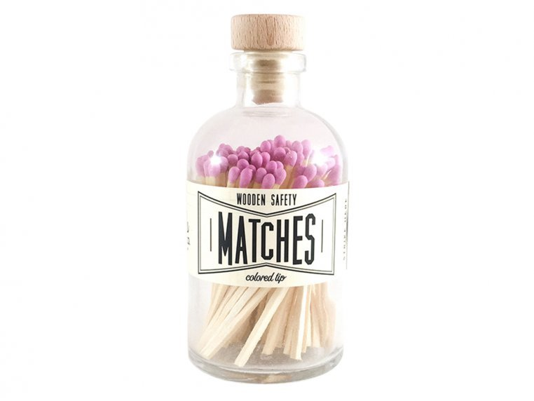 Vintage Apothecary Color-Tip Matches by Made Market Co. - 14