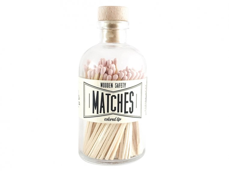 Vintage Apothecary Color-Tip Matches by Made Market Co. - 17