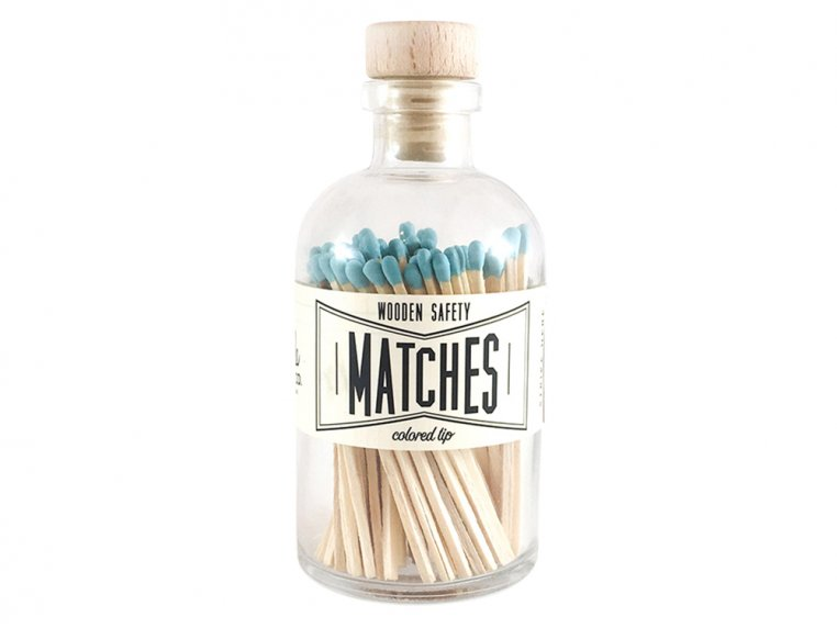 Vintage Apothecary Color-Tip Matches by Made Market Co. - 24