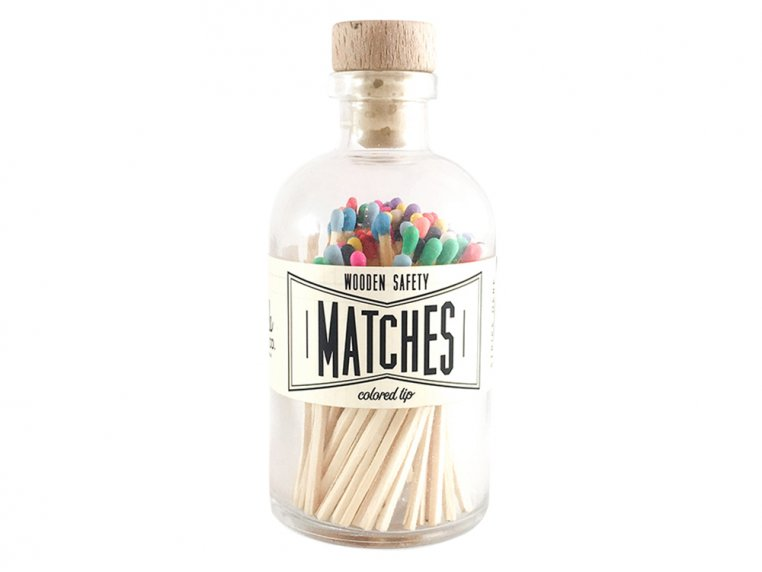 Vintage Apothecary Color-Tip Matches by Made Market Co. - 25