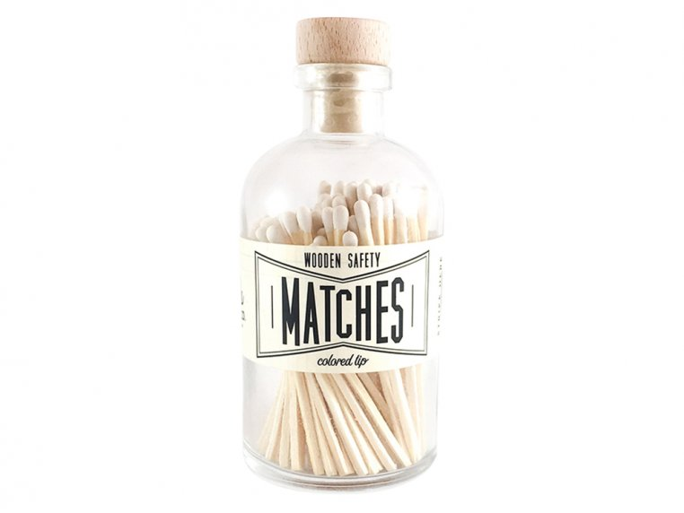 Vintage Apothecary Color-Tip Matches by Made Market Co. - 26