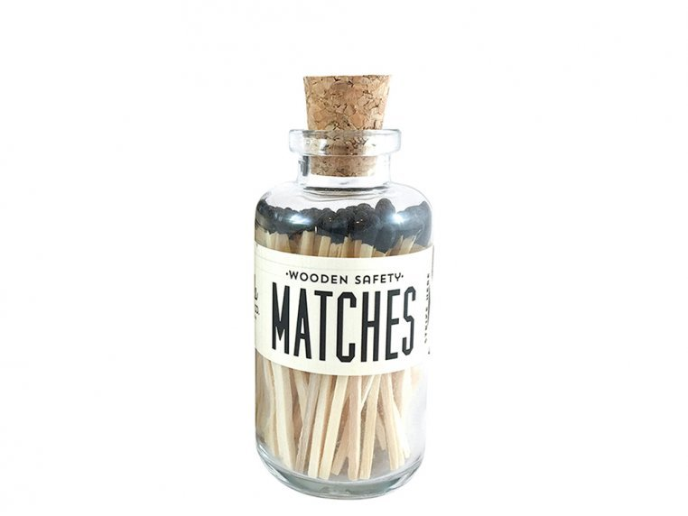 Vintage Apothecary Color-Tip Matches by Made Market Co. - 30
