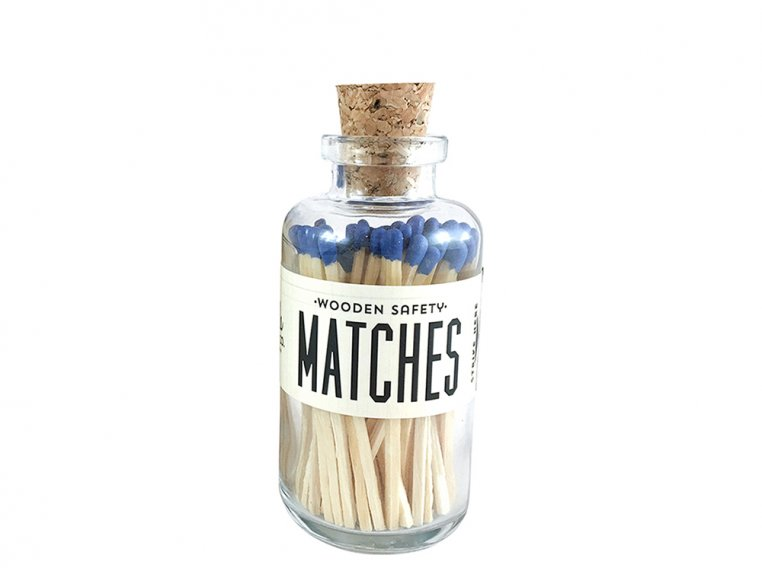 Vintage Apothecary Color-Tip Matches by Made Market Co. - 31