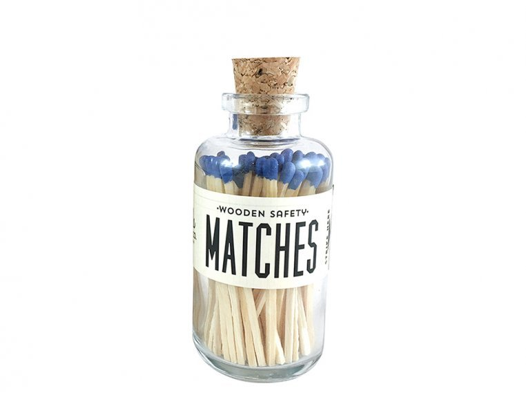 Vintage Apothecary Color-Tip Matches by Made Market Co. - 32