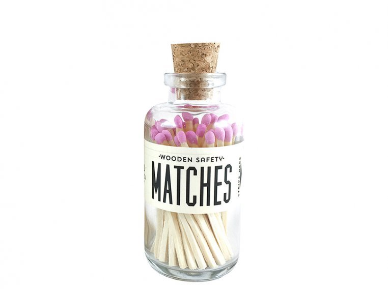 Vintage Apothecary Color-Tip Matches by Made Market Co. - 33