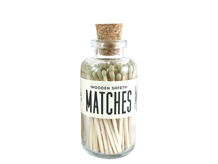 Vintage Apothecary Color-Tip Matches by Made Market Co. - 35