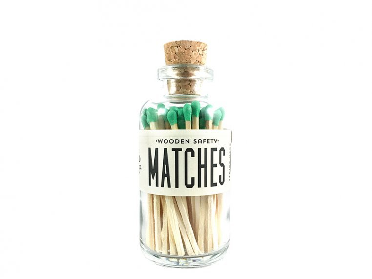 Vintage Apothecary Color-Tip Matches by Made Market Co. - 36
