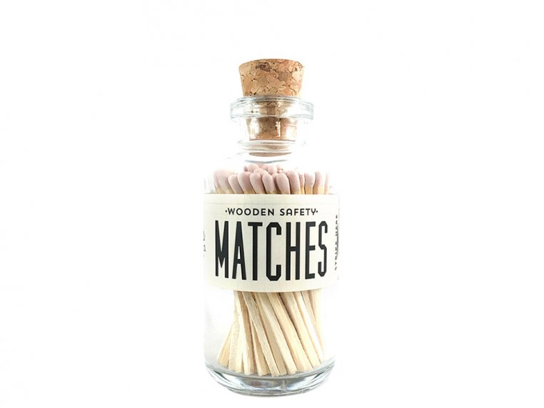 Vintage Apothecary Color-Tip Matches by Made Market Co. - 37