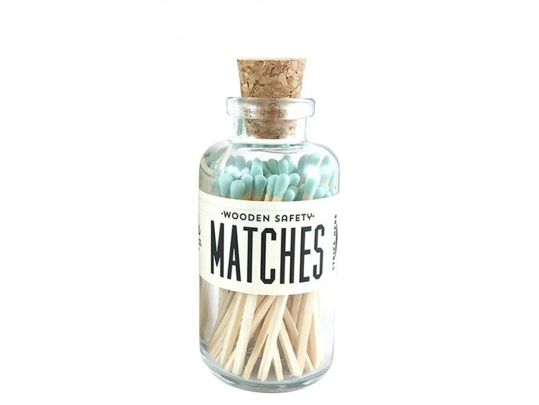 Vintage Apothecary Color-Tip Matches by Made Market Co. - 38