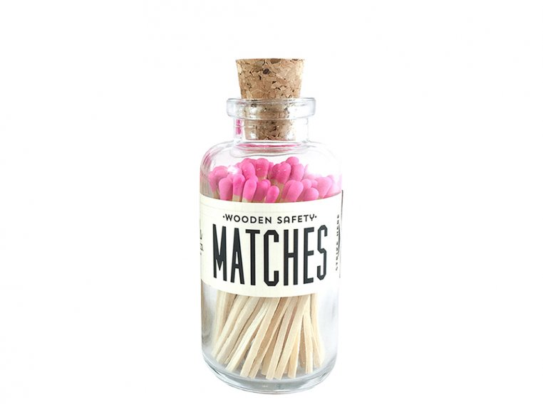 Vintage Apothecary Color-Tip Matches by Made Market Co. - 39